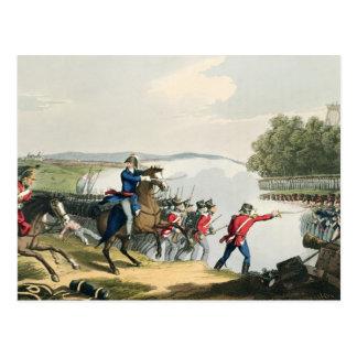 La batalla de Waterloo decidía por el duque del Postal