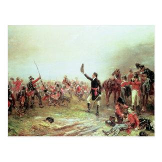 La batalla de Waterloo, el 18 de junio de 1815 2 Tarjeta Postal