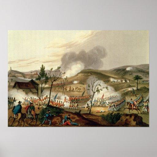 La batalla de Waterloo, el 18 de junio de 1815 Poster