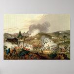 La batalla de Waterloo, el 18 de junio de 1815 Póster