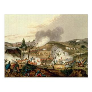 La batalla de Waterloo, el 18 de junio de 1815 Postal