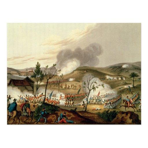 La batalla de Waterloo, el 18 de junio de 1815 Postales