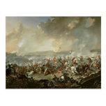 La batalla de Waterloo, el 18 de junio de 1815 Tarjetas Postales