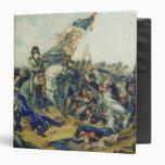 """La batalla de Waterloo en 1815, 1831 Carpeta 1 1/2"""""""