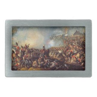 La batalla de Waterloo Hebillas De Cinturon Rectangulares