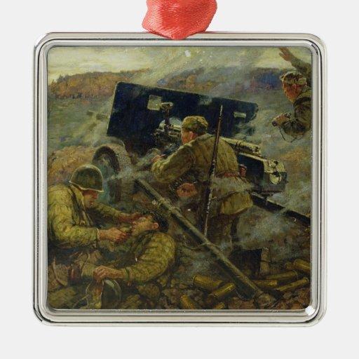 La batalla de Yelnya cerca de Moscú en 1941 Ornamente De Reyes