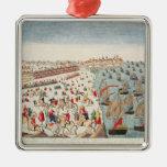 La batalla de Yorktown, el 19 de octubre de 1781 Ornatos