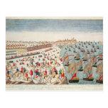 La batalla de Yorktown, el 19 de octubre de 1781 Tarjetas Postales