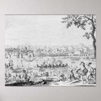 La batalla de Zutphen, el 22 de septiembre de 1586 Póster