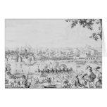 La batalla de Zutphen, el 22 de septiembre de 1586 Tarjeta De Felicitación