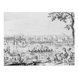 La batalla de Zutphen, el 22 de septiembre de 1586 Tarjeta Postal