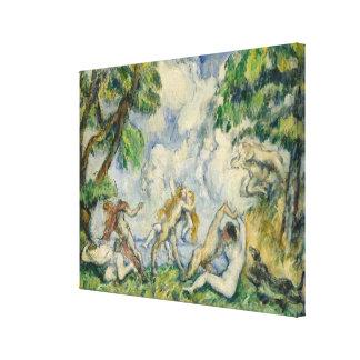 La batalla del amor, C. 1880 (aceite en lona) Lona Envuelta Para Galerías