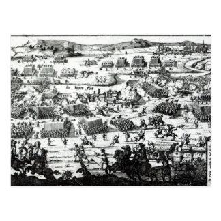 La batalla del Boyne, c.1690 Postal
