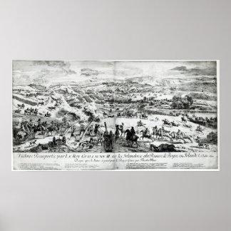 La batalla del Boyne, c.1690 Póster