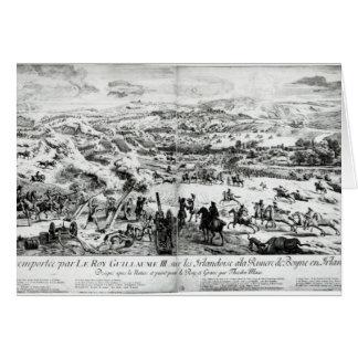 La batalla del Boyne, c.1690 Tarjeta De Felicitación