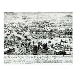 La batalla del Boyne, c.1690 Tarjeta Postal