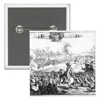 La batalla del Boyne, el 1 de julio de 1690 Pin Cuadrado