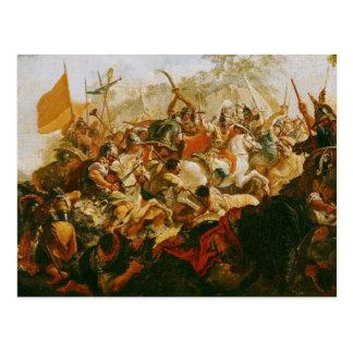 La batalla del Granicus en mayo 334 A.C. Postales