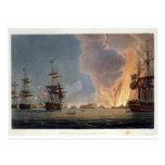 La batalla del Nilo, el 1 de agosto de 1798, Postal