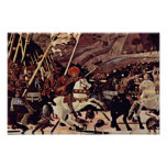 La batalla del romano de San de Paolo Uccello Impresiones