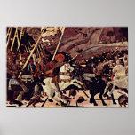 La batalla del romano de San de Paolo Uccello Póster