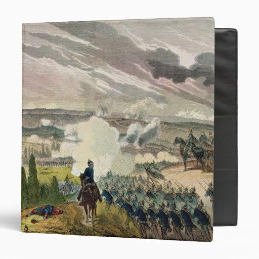 """La batalla del sedán, el 1 de septiembre de 1870 carpeta 1 1/2"""""""