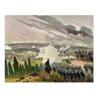 La batalla del sedán, el 1 de septiembre de 1870 postal
