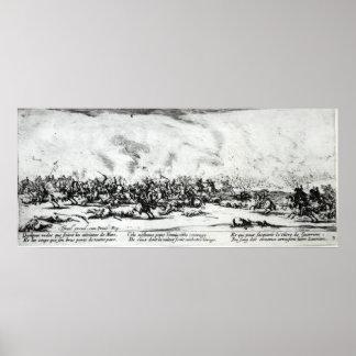 La batalla, platea 3 'de las miserias póster