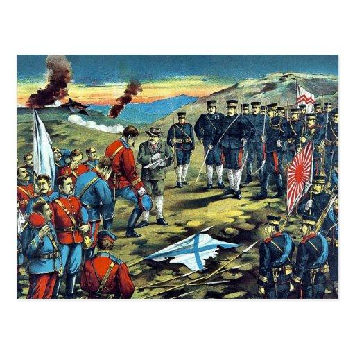 La batalla severa de -li-SZ por Kasai, Torajirō Tarjeta Postal