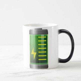 La batería Morph la taza - taza de café mágica