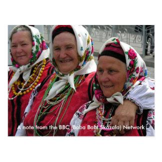 La BBC - Bizcocho borracho Babi Skaza - red Postal