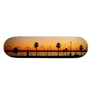 LA Beach Sunset Skateboard