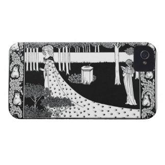 La Beale Isoud at Joyous Gard, illustration from ' iPhone 4 Cases