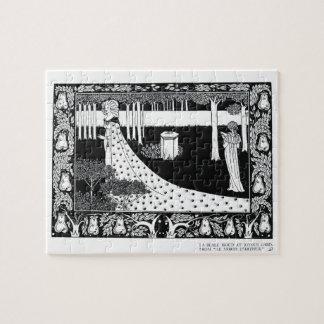 La Beale Isoud at Joyous Gard illustration from Puzzle