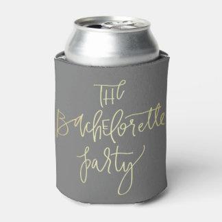 La bebida del fiesta de Bachelorette Enfriador De Latas