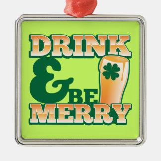 ¡La bebida y sea FELIZ! de la tienda de la cerveza Adornos