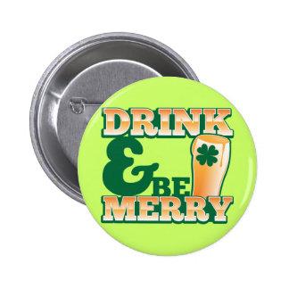 ¡La bebida y sea FELIZ! de la tienda de la cerveza Pins