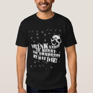 La bebida y sea feliz poleras