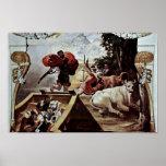 La beca de Odiseo roba el ganado Poster