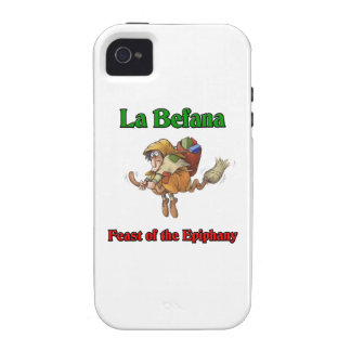 La Befana (Christmas Witch) Feast of the Epiphany. iPhone 4 Covers