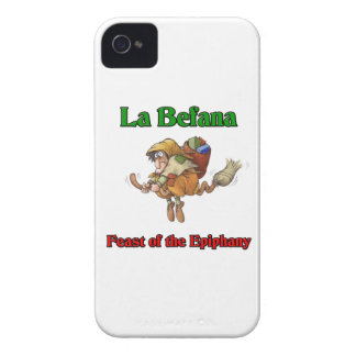 La Befana (Christmas Witch) Feast of the Epiphany. Case-Mate iPhone 4 Cases