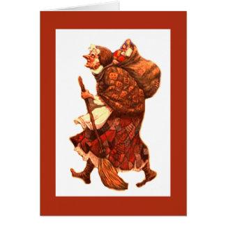 La Befana - Merrry Christmas, Happy Befana Card