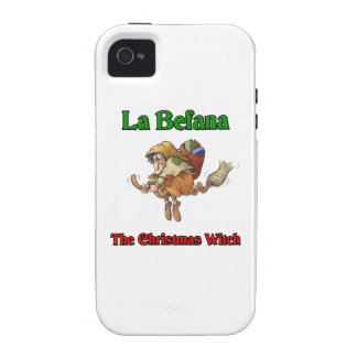 La Befana The Christmas Witch.. Case For The iPhone 4