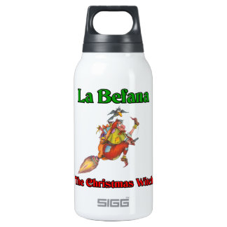 La Befana The Christmas Witch.. Thermos Bottle