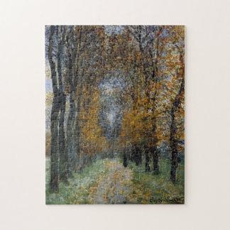 La bella arte de Monet de la avenida Rompecabeza Con Fotos