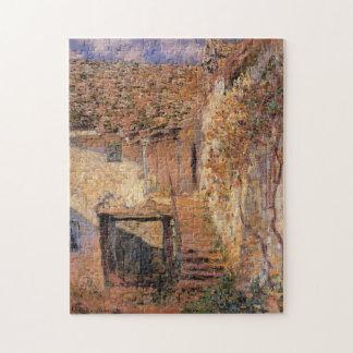 La bella arte de Monet de los pasos Rompecabezas