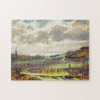 La bella arte de Monet del estuario del Sena Puzzles Con Fotos