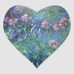 La bella arte de Monet florece al pegatina del
