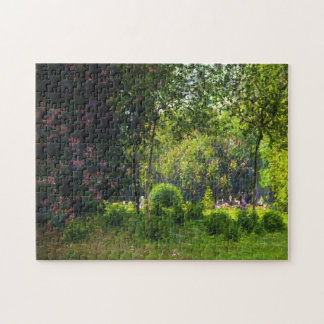 La bella arte de Parc Monceau Monet Rompecabezas Con Fotos