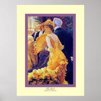 La bella arte del ~ de James Tissot del ~ de la bo Poster